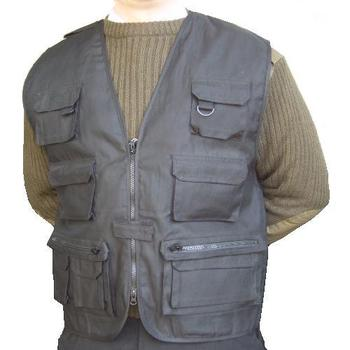 Black Fishing vest
