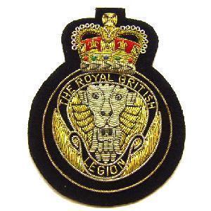 Royal British Legion Blazer Badge Surplus And Outdoors