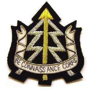 Blazer Badge Of The Reconnaissance Corps Surplus And