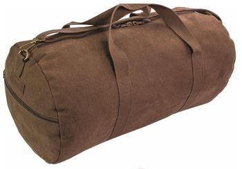 Canvas Barrel Bag