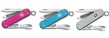 Classic Victorinox Limited Edition Alloy Penknife In Pink