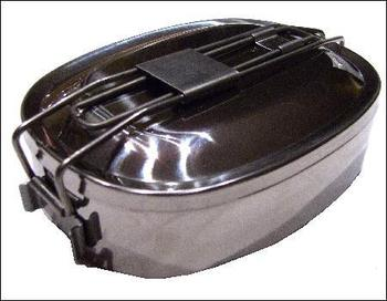 Crusader Stainless steel mess tins
