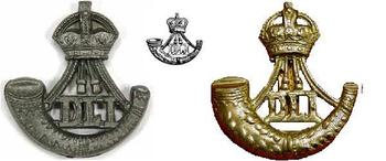 Durham Light Infantry Cap Badges