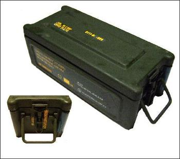 Excellent NATO Grenade Box, Lockable and Stackable