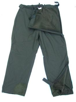 As New Genuine German Military Fleece Lined Zipped Side Winter Mountain Trousers