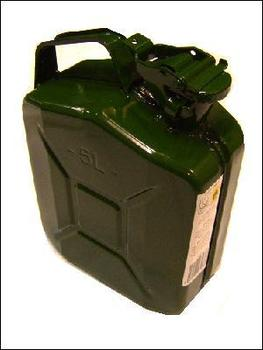 5 Litre Metal Jerry Can
