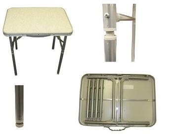 New Low Folding Table With Screw On Leg Extensions Surplus And Outdoors