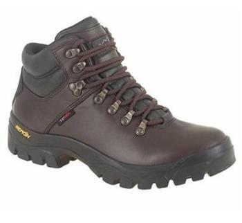 New Brown Leather Fast Climb Walking Boot With Vibram Sole (M893B