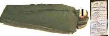 Genuine British Issue 58 pattern Sleeping Bag.  Brand NEW condition.