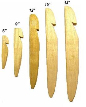 Ash Tent Pegs Strong Wooden Hand Crafted Man Made Ash Tent Pegs, in Different Sizes