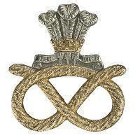 Staybrite and Metal Cap Badge for the Staffordshire Regiment ...