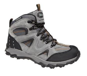 Waterproof and breathable walking boot