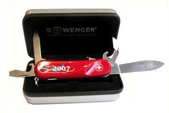 Wenger Swiss 2007 Collectable Scout Knife From Surplus And
