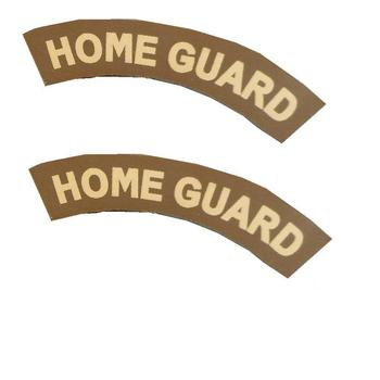 British home guard patch