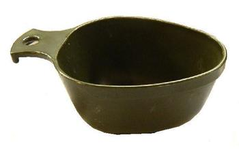 Trangia Cup, Scandinavian / Swedish Olive green Kusa Kuksa Sturdy Plastic Military Issue