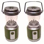 Pack of 2 LED Patio Lanterns