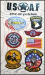 Sew on US patches