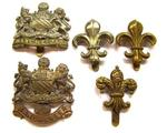 Bi metal Cap badge  Of Manchester Regiment Cap badges