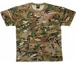MTP Multicam Children's Kids Combat T shirt, New