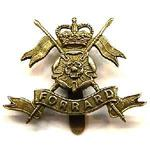 Cap badge of the Queens own Yorkshire Yeomanry