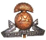 The Lancashire Fusiliers Cap Badge
