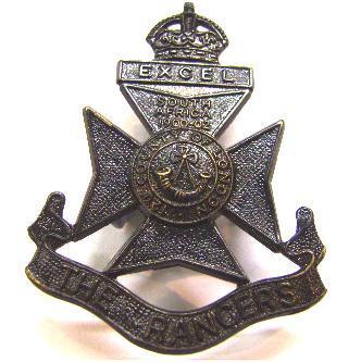 12th (County of london) The Rangers cap badge