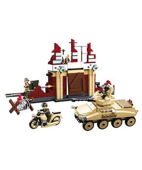 WWII Battle of Stalingrad Sluban bricks building set - like lego - B0696