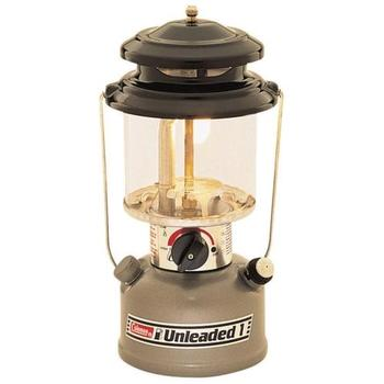 Coleman Duel Fuel Single Mantle Unleaded Lantern Model 282-700