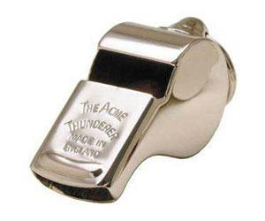 Acme Thunderer Metal Guards Whistle Different Regions