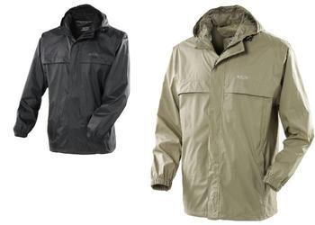 Black Or Olive Waterproof and Breathable Gelert Rain Pod Jacket In A Bag