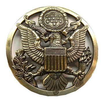 US Airforce Service Cap badge