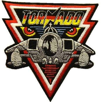US TopGun Tornado sew on patch