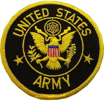 US Army Sew on Patch - United States Army