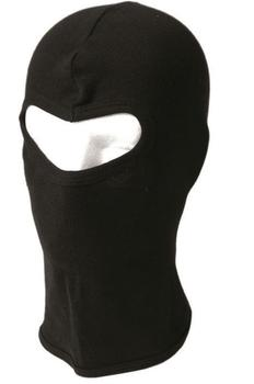 Cotton Balaclava Lightweight open face Thin Black balaclava