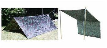 Basha Shelter New Military Style Woodland DPM Camo Basha Shelter