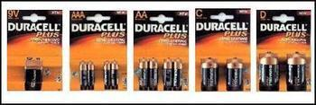 Duracell Batteries All Sizes 1 price !