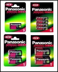 Quality Panasonic Batteries All Sizes One Price!