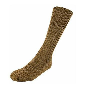 Tropical Forces Sock, Khaki Beige Cotton Rich Hard Wearing Military Style socks