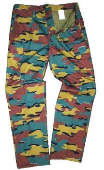 Belgian Jigsaw Camo pattern Ripstop Combat Trousers Genuine Military Issue ~ New
