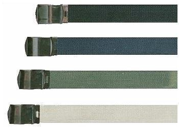 Canvas Belt Quality 30mm approx 1 inch Canvas Army Style Belt With Metal Buckle