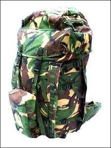 DPM PLCE Bergen Woodland Camo New UNISSUED / Supergrade Genuine Army Issue Long / Short Back