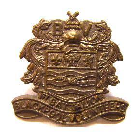 Blackpool volunteers Cap badge