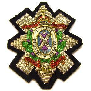 Blazer badge for the Black watch