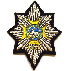 Blazer Badge of the Worcestershire and Sherwood Foresters