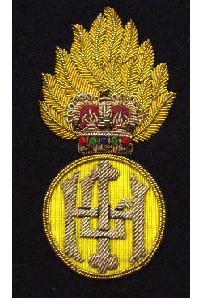 Blazer badge of the highland light infantry