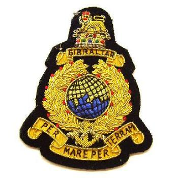 New Royal Marines  Blazer Badge