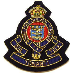 Blazer Badge of the Royal Army Ordnance