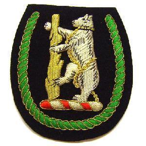 Warwickshire and Worcestershire Yeomanry  Blazer badge