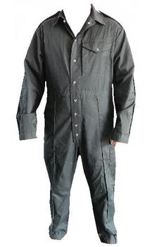 Black Tank Crew Coveralls Genuine Army Issue Tankers Tomboy Poly Cotton Men's Boilersuit
