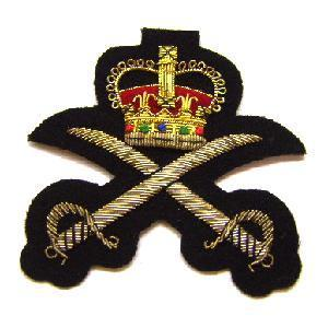 Blazer badge of the the Physical training corps